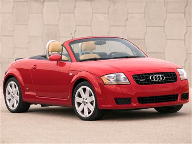 Most Fuel Efficient Convertibles of 2006 - 2006 Audi TT