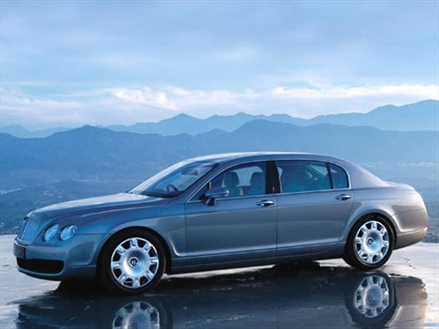 Highest Horsepower Luxury Vehicles of 2006 - 2006 Bentley Continental