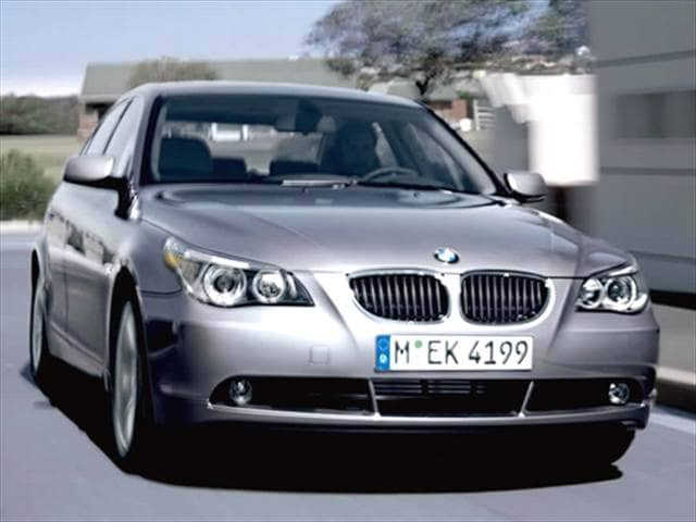 Most Popular Luxury Vehicles of 2006 - 2006 BMW 5 Series