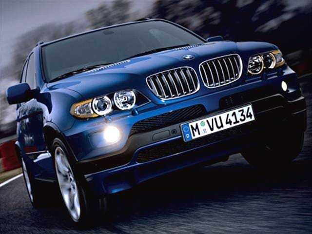 Highest Horsepower Crossovers of 2006 - 2006 BMW X5
