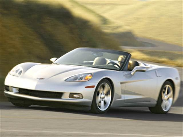 Highest Horsepower Convertibles of 2006 - 2006 Chevrolet Corvette