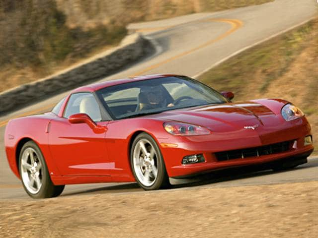 Top Consumer Rated Coupes of 2006 - 2006 Chevrolet Corvette