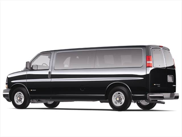 Highest Horsepower Vans/Minivans of 2006 - 2006 Chevrolet Express 1500 Passenger