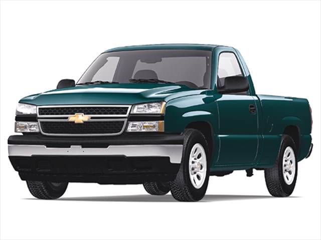 Most Popular Trucks of 2006 - 2006 Chevrolet Silverado 1500 Regular Cab