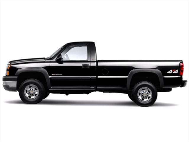 Top Consumer Rated Trucks of 2006 - 2006 Chevrolet Silverado 2500 HD Regular Cab