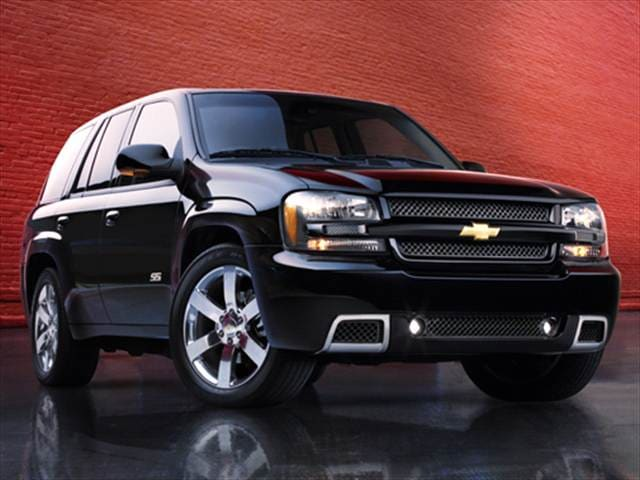 Most Popular SUVs of 2006 - 2006 Chevrolet TrailBlazer