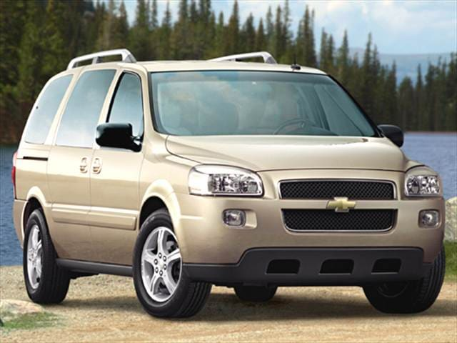 Most Fuel Efficient Vans/Minivans of 2006 - 2006 Chevrolet Uplander Passenger
