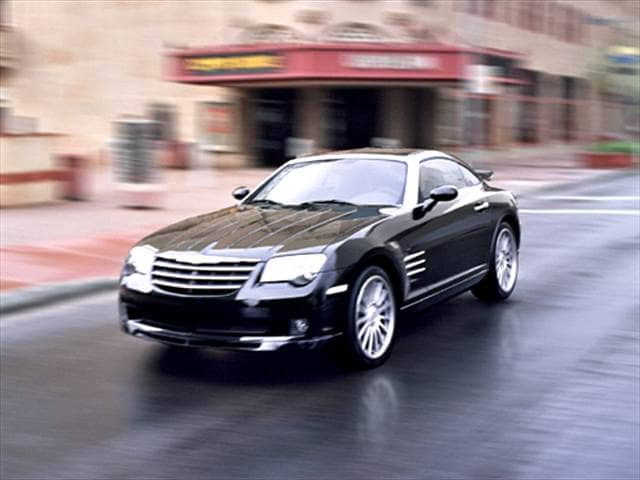 Highest Horsepower Hatchbacks of 2006 - 2006 Chrysler Crossfire