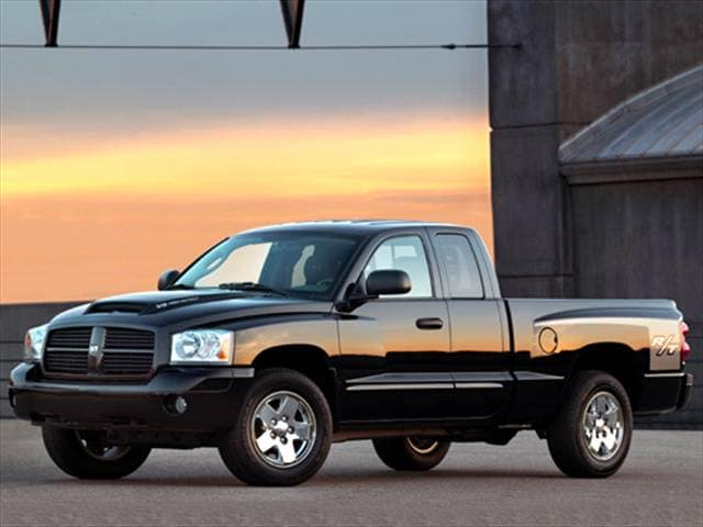 2007 dodge dakota blue book value