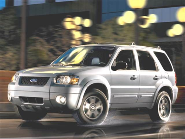 Most Fuel Efficient Crossovers of 2006 - 2006 Ford Escape