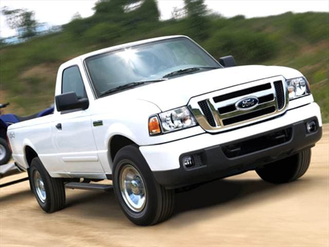 Most Fuel Efficient Trucks of 2006 - 2006 Ford Ranger Regular Cab