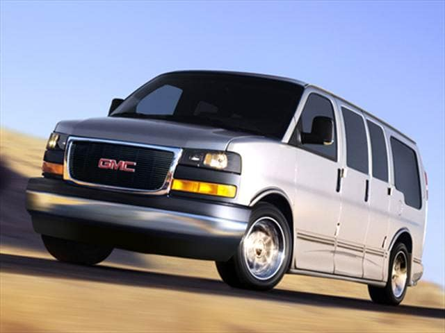 Top Consumer Rated Vans/Minivans of 2006 - 2006 GMC Savana 1500 Passenger