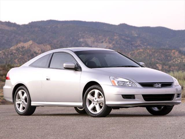 Most Fuel Efficient Coupes of 2006 - 2006 Honda Accord
