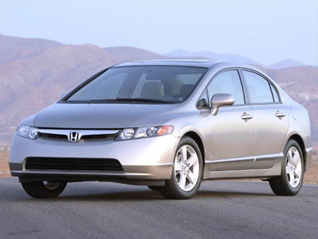 Most Popular Sedans of 2006 - 2006 Honda Civic