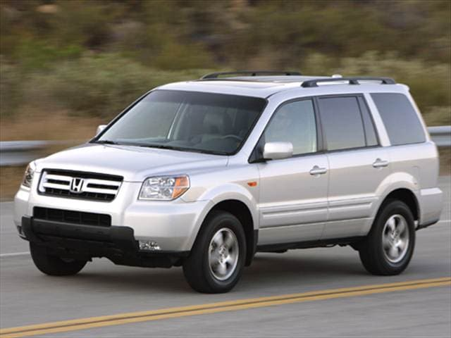 Top Consumer Rated Crossovers of 2006 - 2006 Honda Pilot