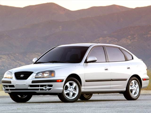 Most Popular Hatchbacks of 2006 - 2006 Hyundai Elantra