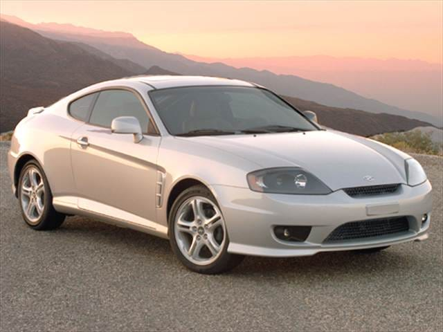 Highest Horsepower Hatchbacks of 2006 - 2006 Hyundai Tiburon