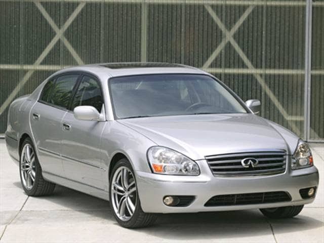 Top Consumer Rated Luxury Vehicles of 2006 - 2006 INFINITI Q