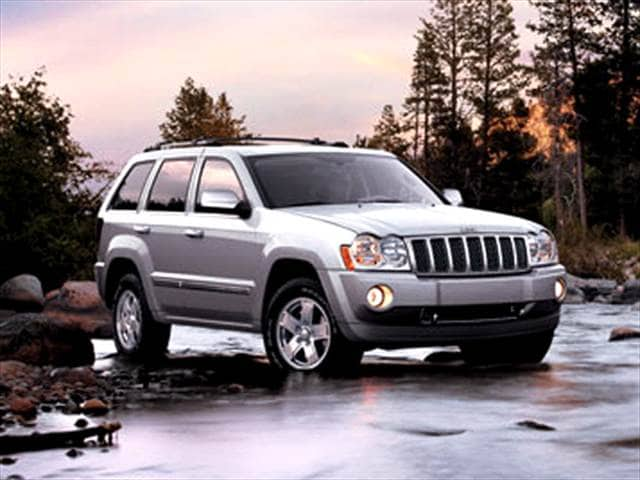 Most Popular SUVs of 2006 - 2006 Jeep Grand Cherokee