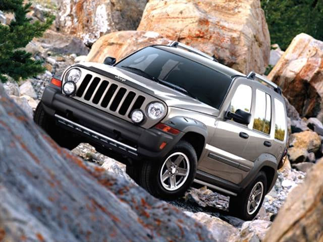 Most Popular SUVs of 2006 - 2006 Jeep Liberty
