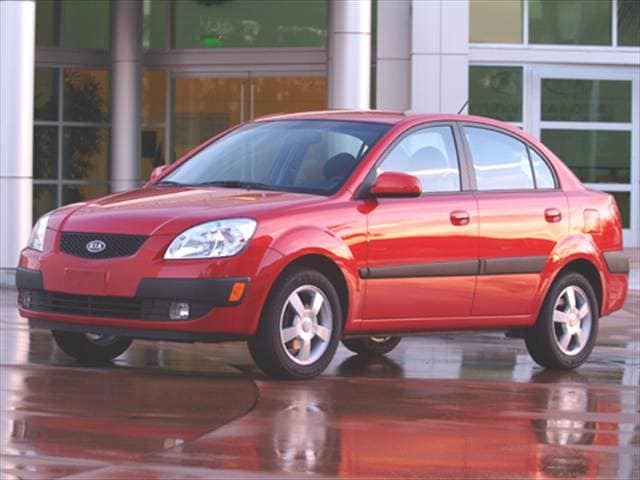 Most Fuel Efficient Sedans of 2006 - 2006 Kia Rio