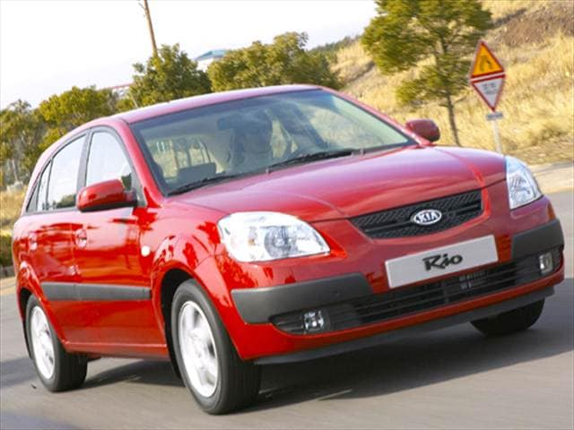 Most Fuel Efficient Hatchbacks of 2006 - 2006 Kia Rio