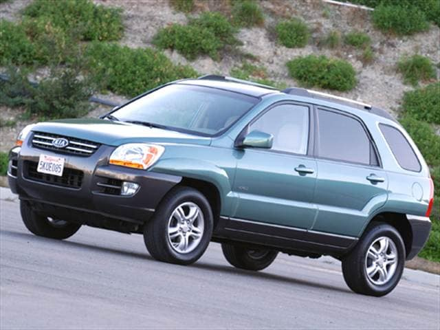 Top Consumer Rated Crossovers of 2006 - 2006 Kia Sportage
