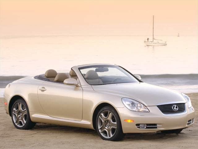 Top Consumer Rated Convertibles of 2006 - 2006 Lexus SC