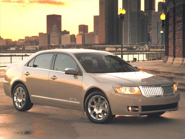 Top Consumer Rated Sedans of 2006 - 2006 Lincoln Zephyr