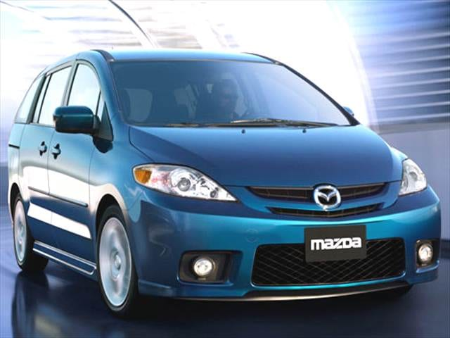 Most Fuel Efficient Vans/Minivans of 2006 - 2006 Mazda MAZDA5