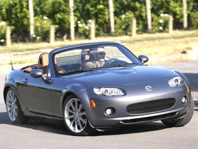 Most Fuel Efficient Convertibles of 2006 - 2006 Mazda MX-5 Miata