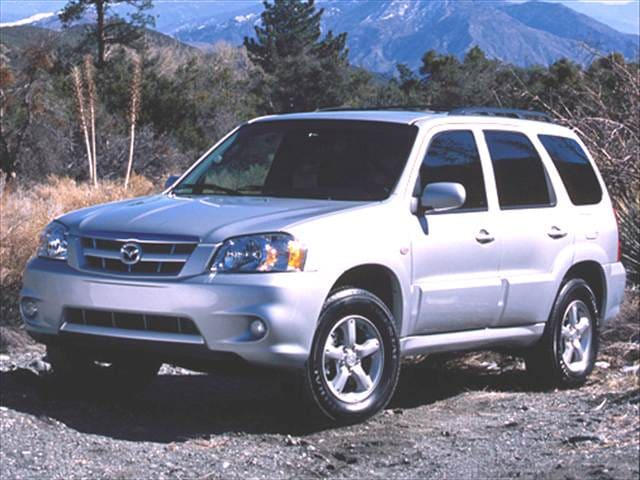 Most Fuel Efficient SUVs of 2006 - 2006 Mazda Tribute
