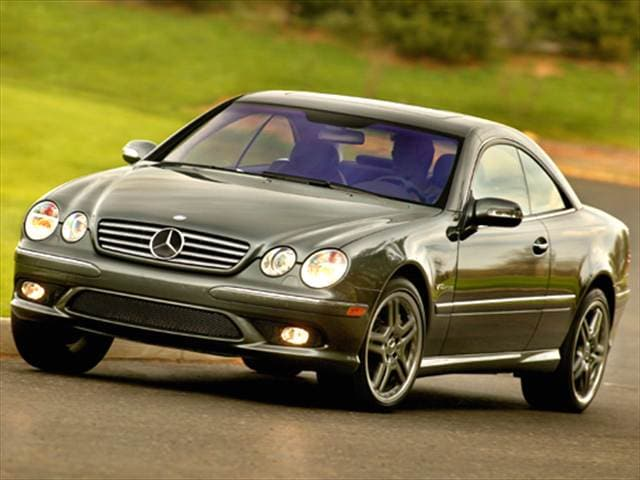 Highest Horsepower Luxury Vehicles of 2006 - 2006 Mercedes-Benz CL-Class