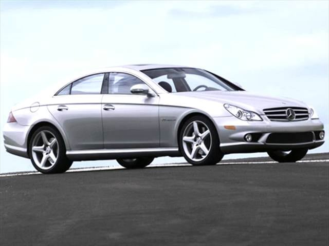 Highest Horsepower Sedans of 2006 - 2006 Mercedes-Benz CLS-Class