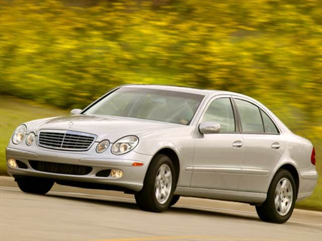 Most Fuel Efficient Sedans of 2006 - 2006 Mercedes-Benz E-Class