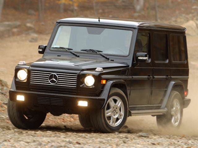 Highest horsepower suvs of 2006 kelley blue book for Mercedes benz g class mpg