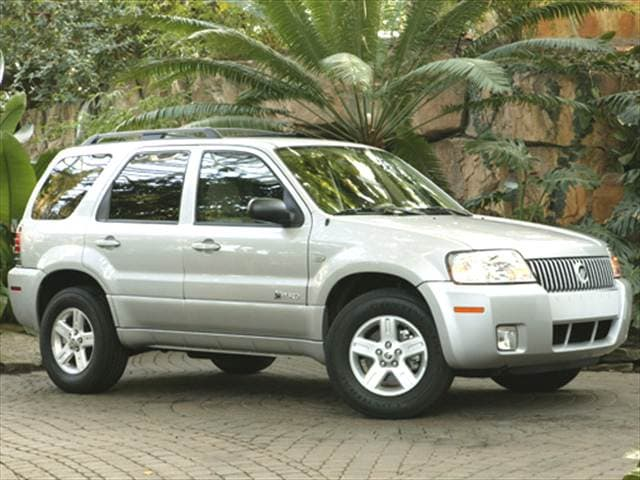 Most Fuel Efficient Hybrids of 2006 - 2006 Mercury Mariner