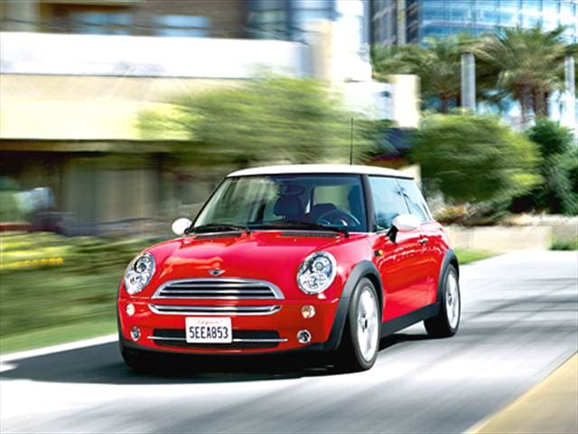 Most Fuel Efficient Hatchbacks of 2006 - 2006 MINI Cooper