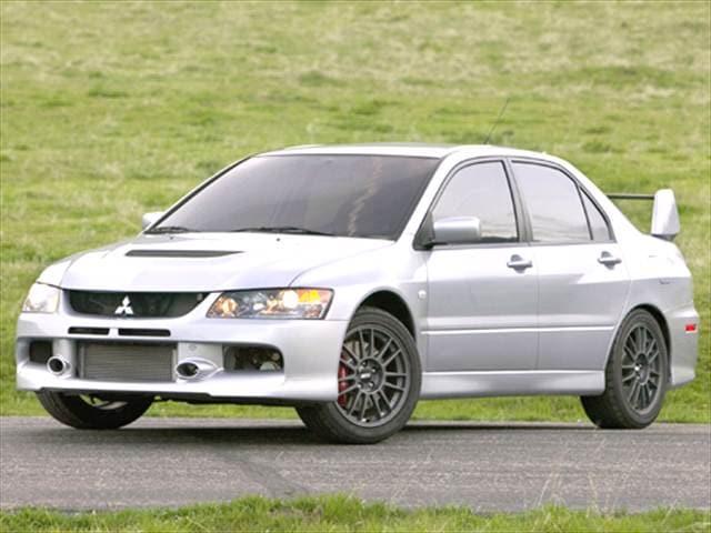 2006 mitsubishi lancer evolution ix sedan 4d used car prices