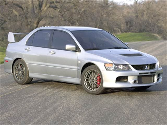 2006 mitsubishi lancer evolution mr sedan 4d used car prices