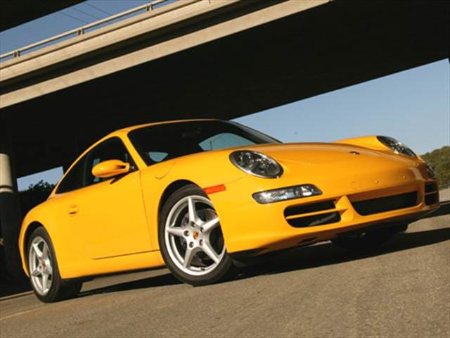 Top Consumer Rated Coupes of 2006 - 2006 Porsche 911