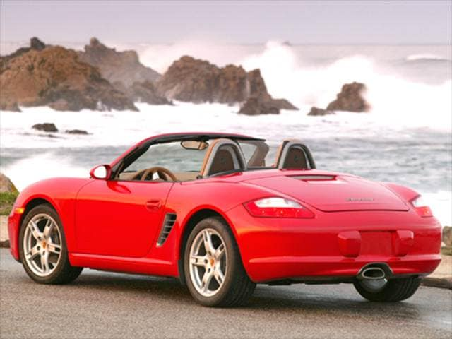 Top Consumer Rated Convertibles of 2006 - 2006 Porsche Boxster