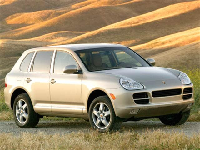 Top Consumer Rated Crossovers of 2006 - 2006 Porsche Cayenne