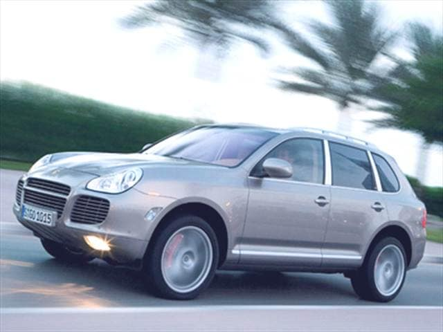 Highest Horsepower SUVs of 2006 - 2006 Porsche Cayenne
