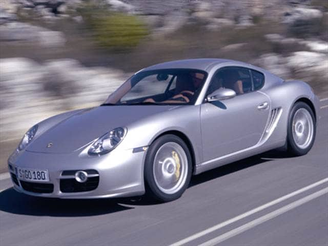 Top Consumer Rated Coupes of 2006 - 2006 Porsche Cayman