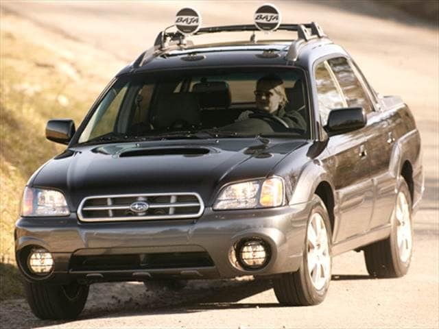 Most Fuel Efficient SUVs of 2006 - 2006 Subaru Baja