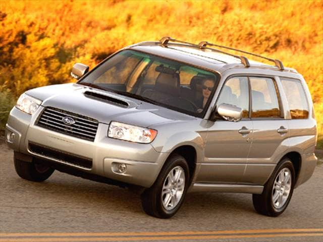Most Fuel Efficient SUVs of 2006 - 2006 Subaru Forester