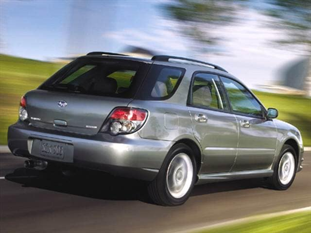 Most Popular Wagons of 2006 - 2006 Subaru Impreza