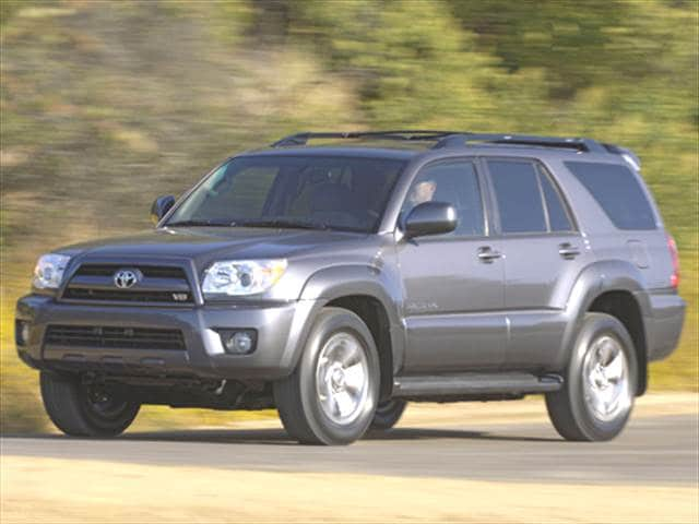 Top Consumer Rated SUVs of 2006 - 2006 Toyota 4Runner