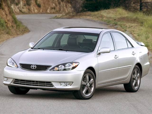 Most Popular Sedans of 2006 - 2006 Toyota Camry